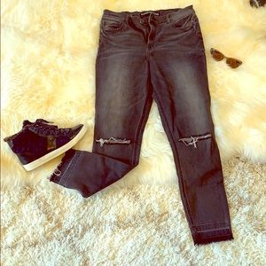 Express ankle legging high rise jeans